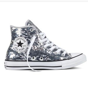 Converse Shoes   Converse Sequin High